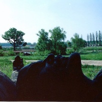 Bucarest - Statue déboulonnée de Lénine